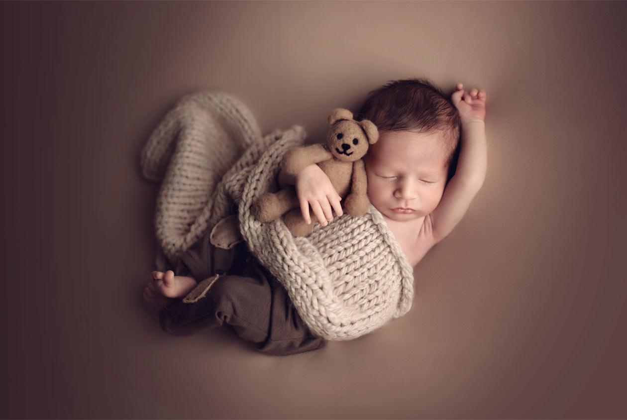 Professional newborn portrait